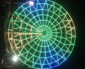 Super Color Amusement Park Led Rgb Pixel Ferris Wheel Decoration